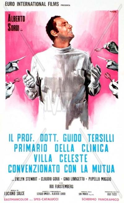 Roma, 1969 - Il furgone Latte Sano ripreso nel film con il grande Alberto Sordi