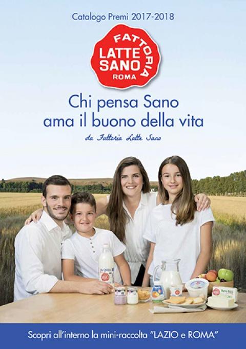 catalogo premi Latte Sano 2017/2018