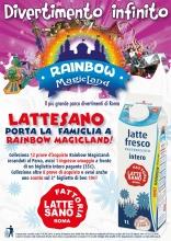 Campagna Radio Latte Sano ti premia con Rainbow 2016!