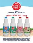 E' arrivata la  nuova linea di latte UHT in bottiglia 100% del Lazio