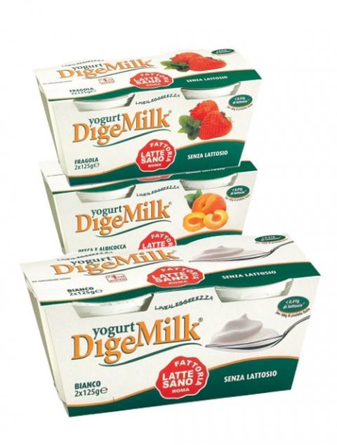Yogurt a ridotto contenuto di lattosio linea leggerezza