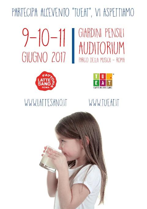 LATTE SANO TI INVITA A TU- EAT IL 9-10-11 GIUGNO