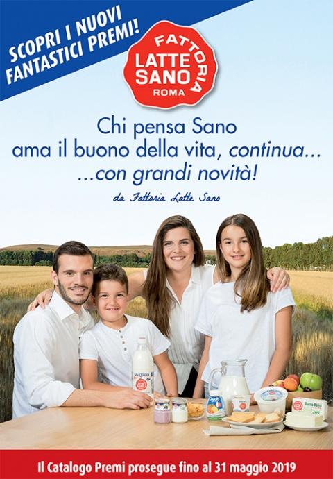 E' ARRIVATA la proroga del catalogo Latte Sano: